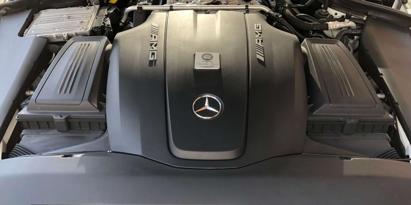 メルセデスAMG GTS LHD  ダイヤモンドホワイト