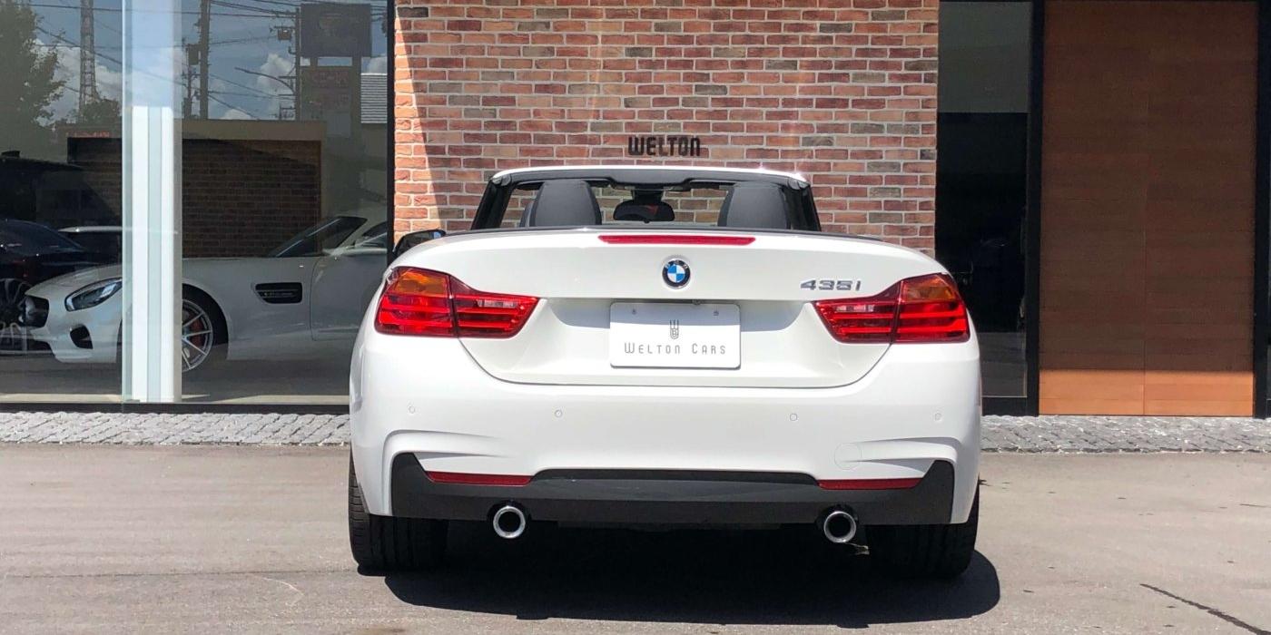 BMW 4シリーズカブリオレ435i Mスポーツ