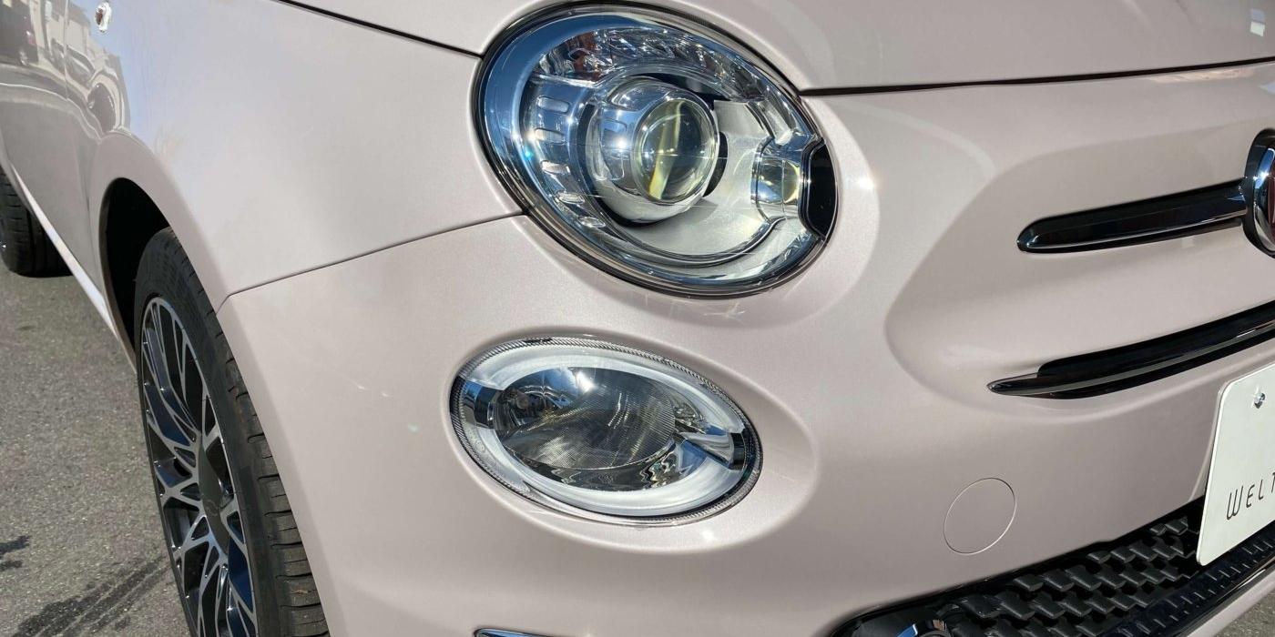 フィアット 500(チンクエチェント) イレジスティービレ