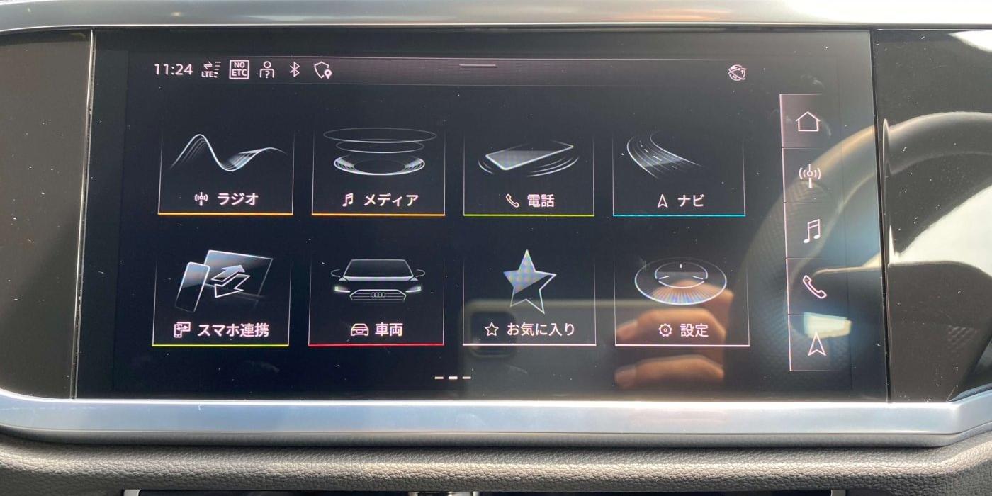 アウディ Q3スポーツバック35 TDI クワトロ Sライン
